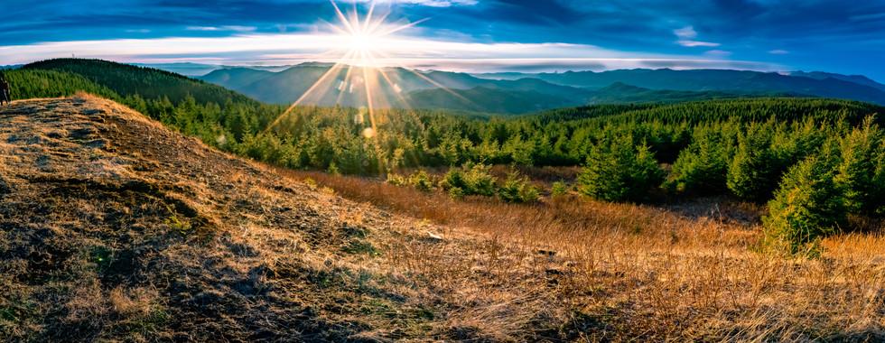 NYD 2018 Mt. Hebo Sunset- Oregon Coastal Region