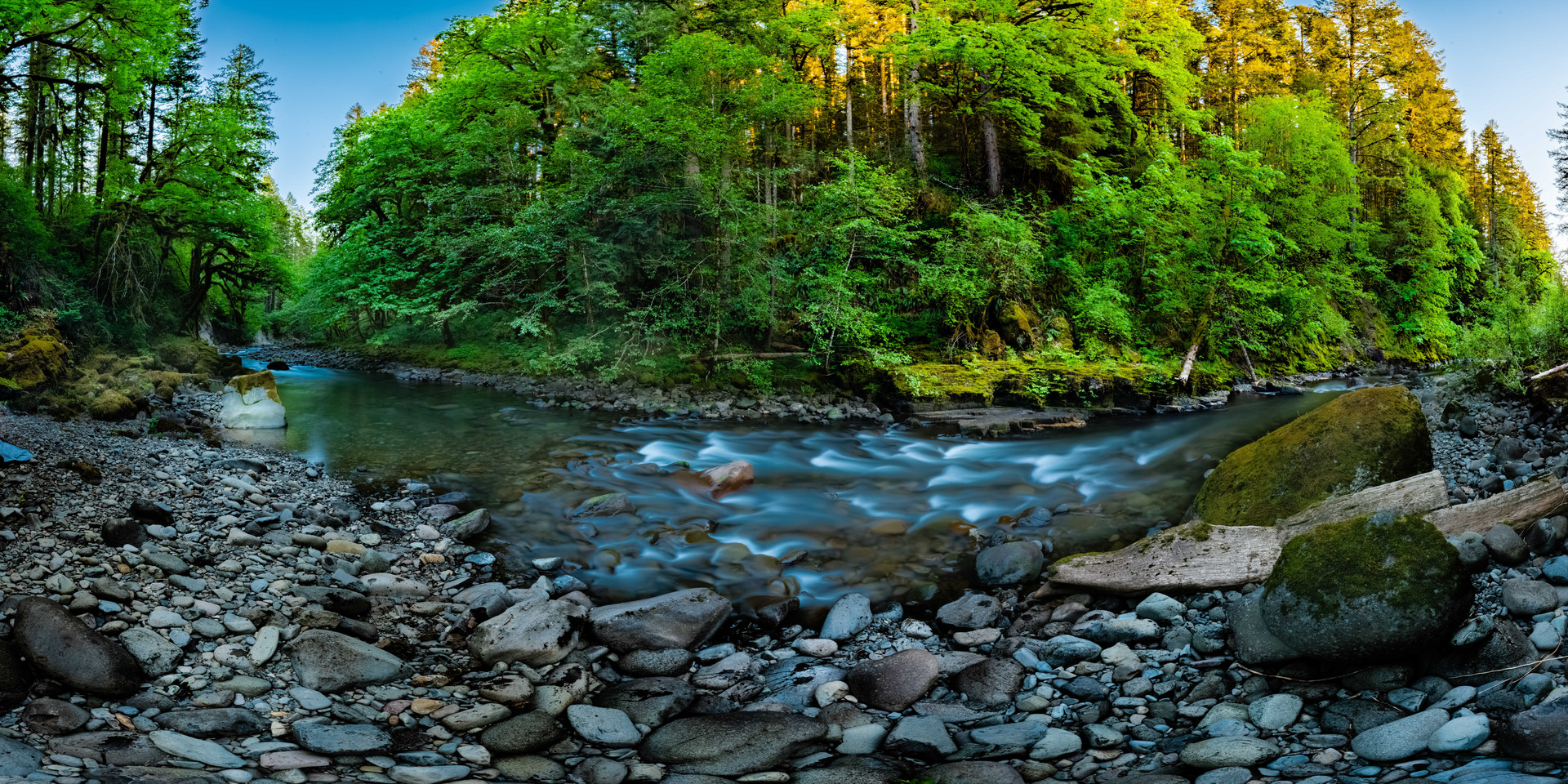 Molalla River Rapids- Mt. Hood National Forest