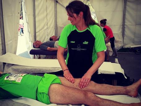 Le marathon du massage ... au bord du lac