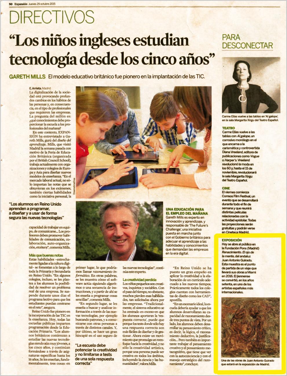 El Economista, 29 Oct, 2015
