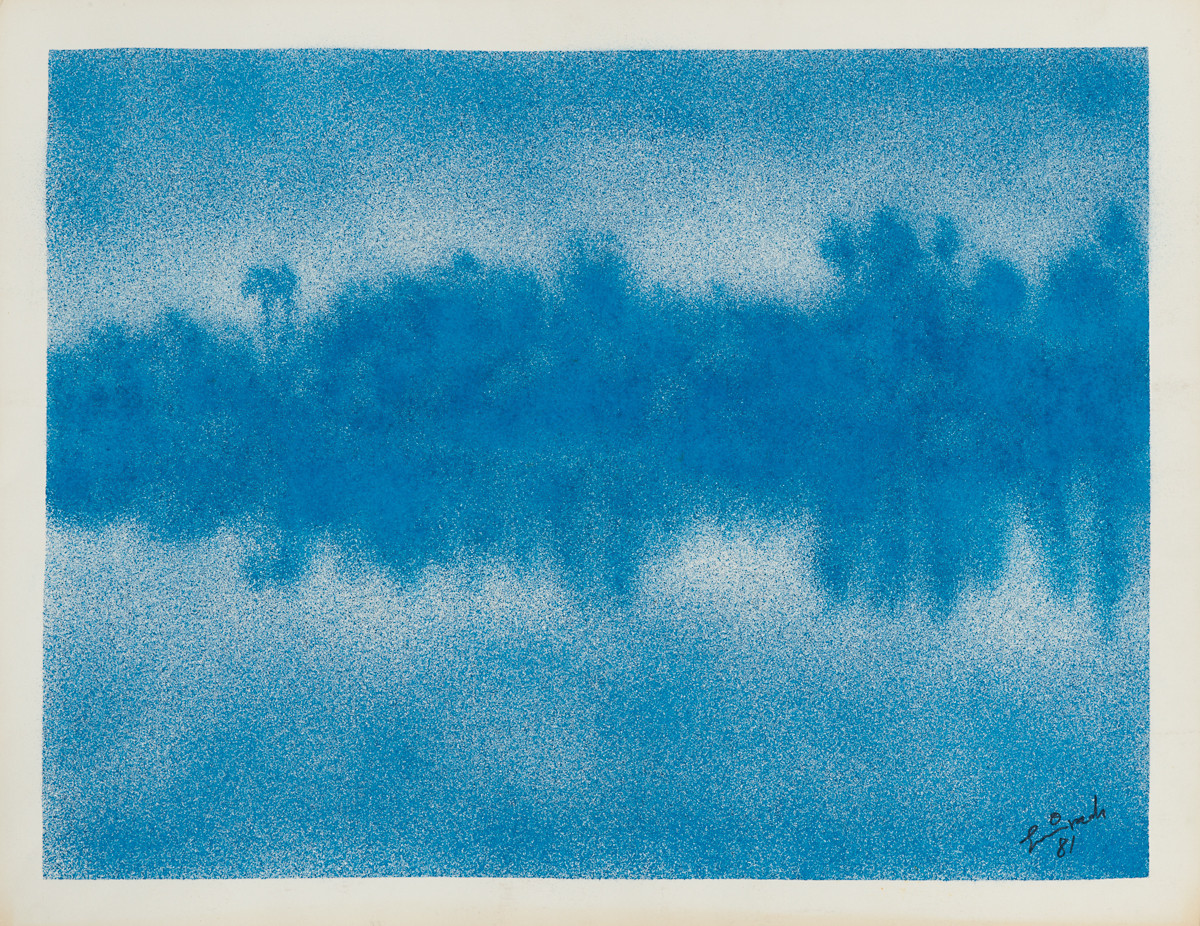 Nile spray ink 1981