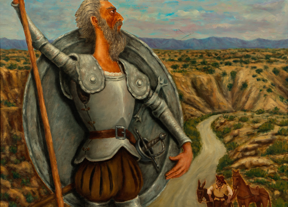 Don Quijote I, 1967 oil on canvas