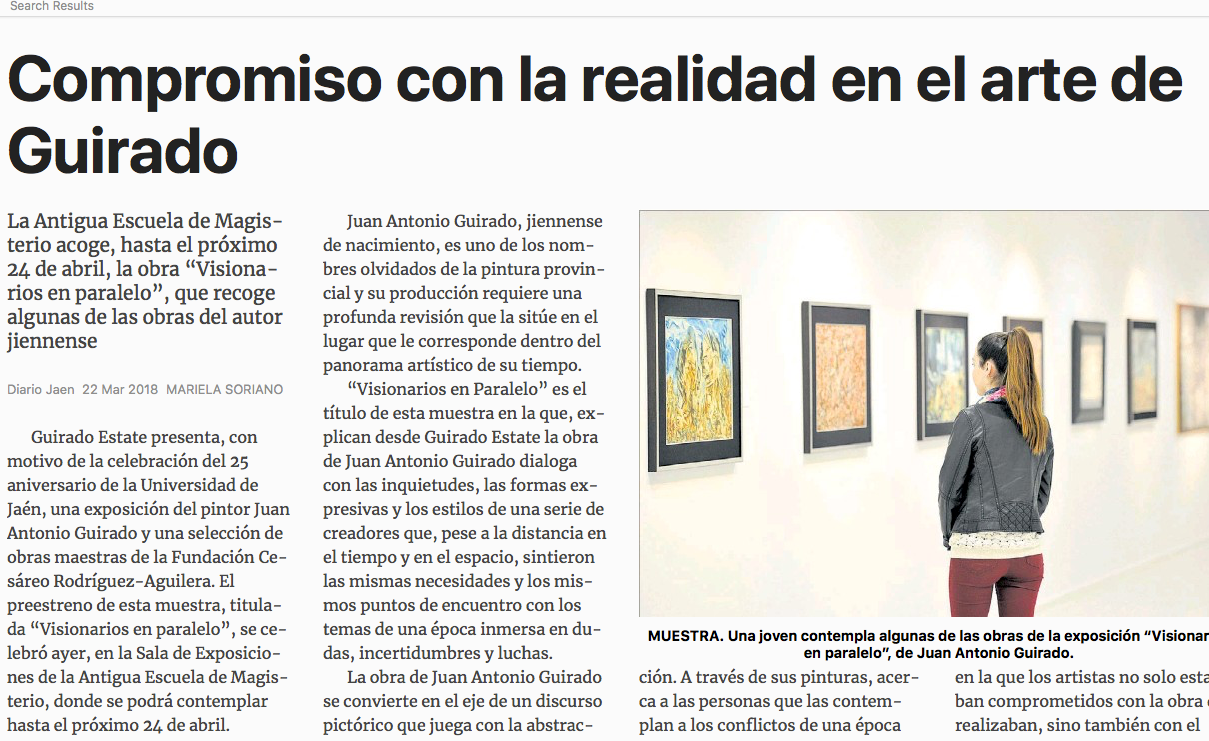 Press from the exhibtion