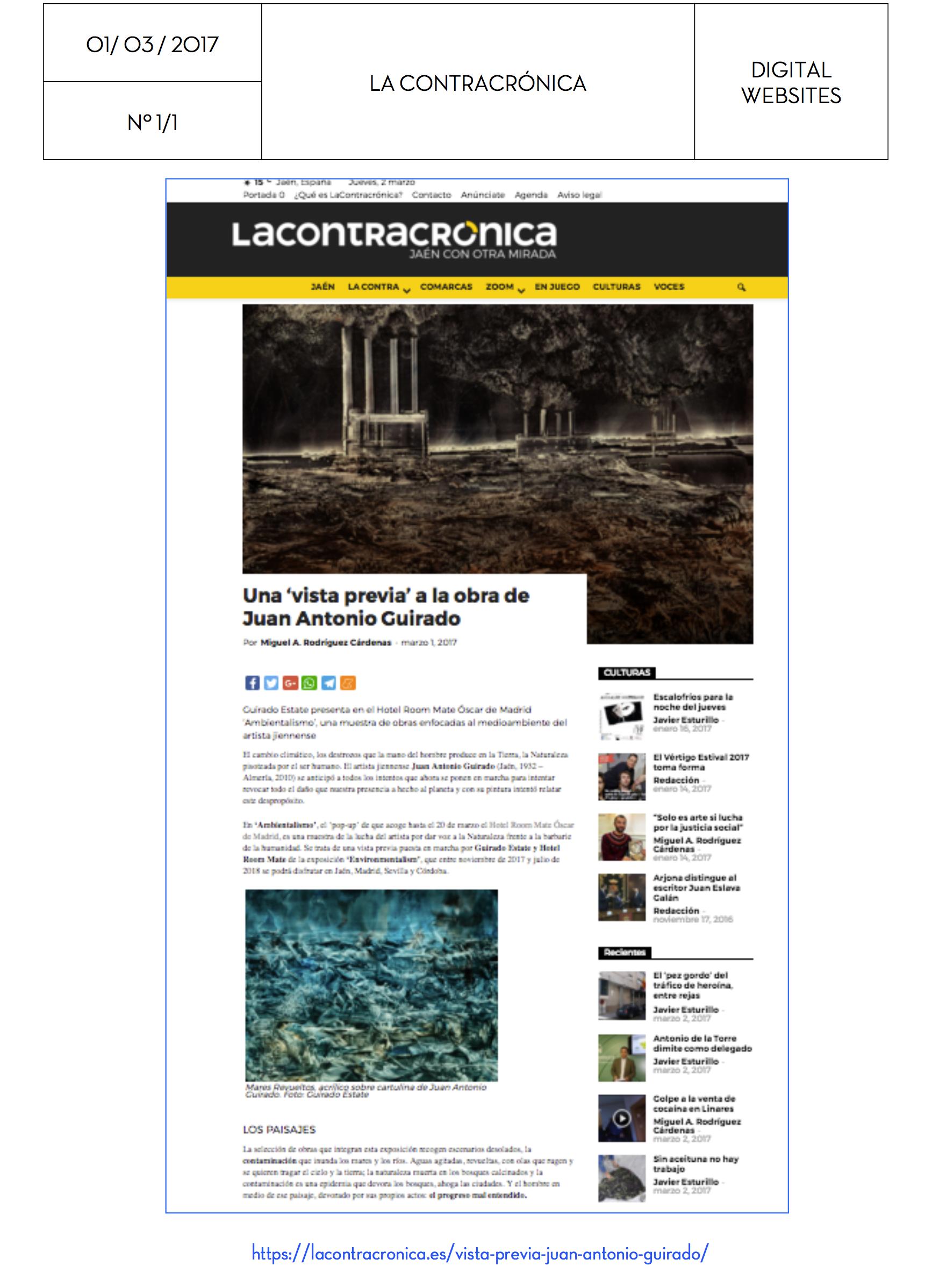 1/3/2017 La Contracronica