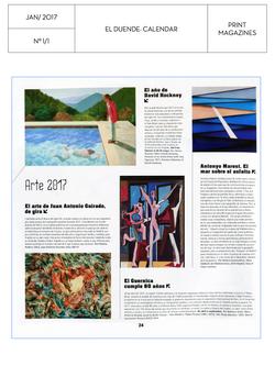 El Duende calendar 2017