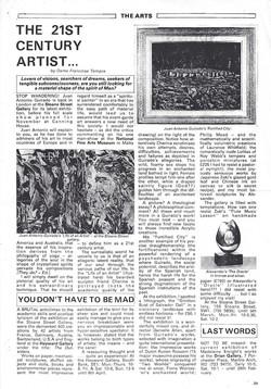 "'The 21st century Artist"" March 1979"