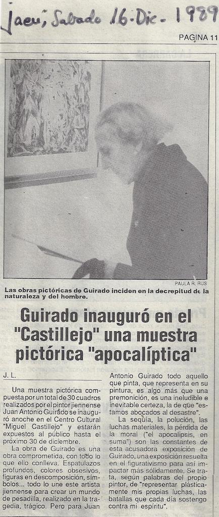 Guirado_inauguró_en_el_Castillejo_una_muestra_pictórica_apocalíptica,_Exhibition_at_Centro_Cultural_