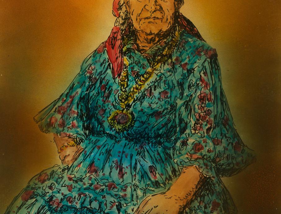 Retrato en la cercanía- Adivinadora, 1981