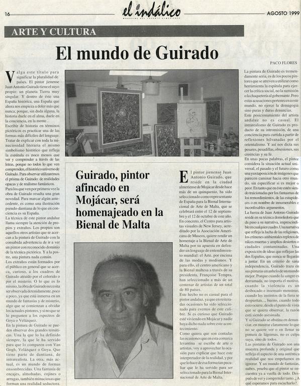 El Mundo de Guirado Aug 1999