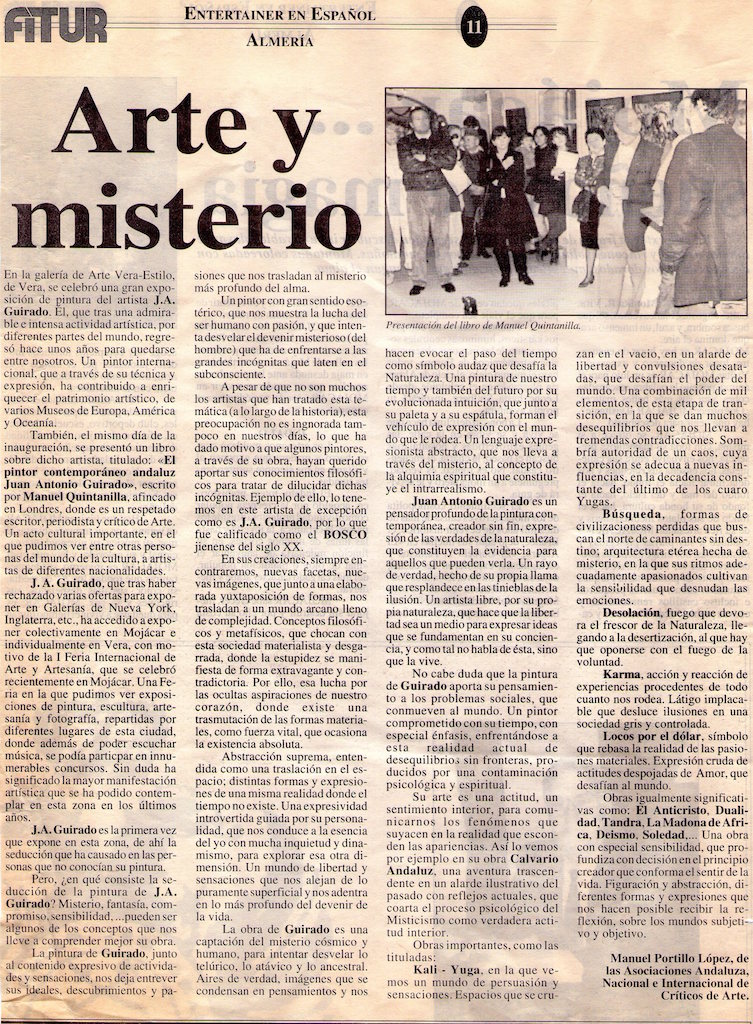 1996 - Arte Y Misterio