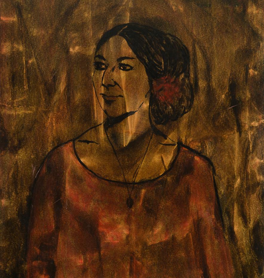 Retrato en la cercanía- La Cantaora, 1974