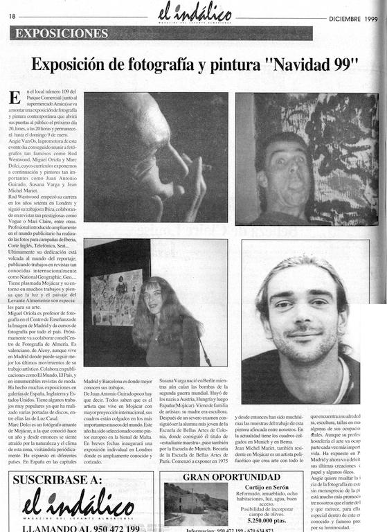 Diciembre 1999 - el Indalico