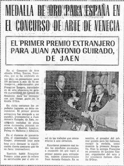 Guirado wins Gold medal 1976