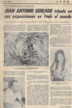 01/8/1976 Guirado's triumph