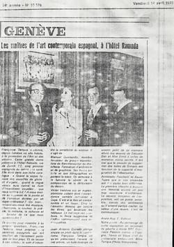1978 Geneva exhibition