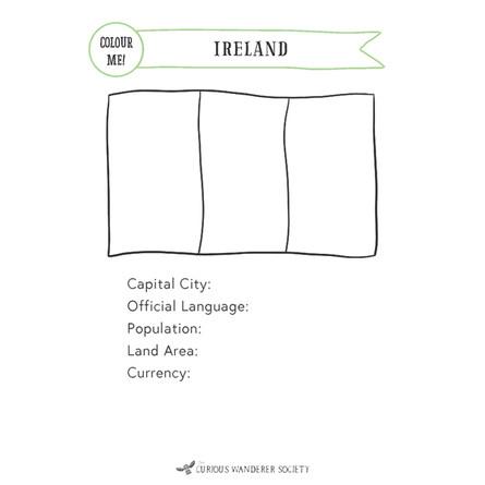 Ireland Passport A5 Inserts (free version)