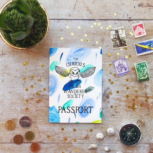 Passport - Curious Wanderer Society
