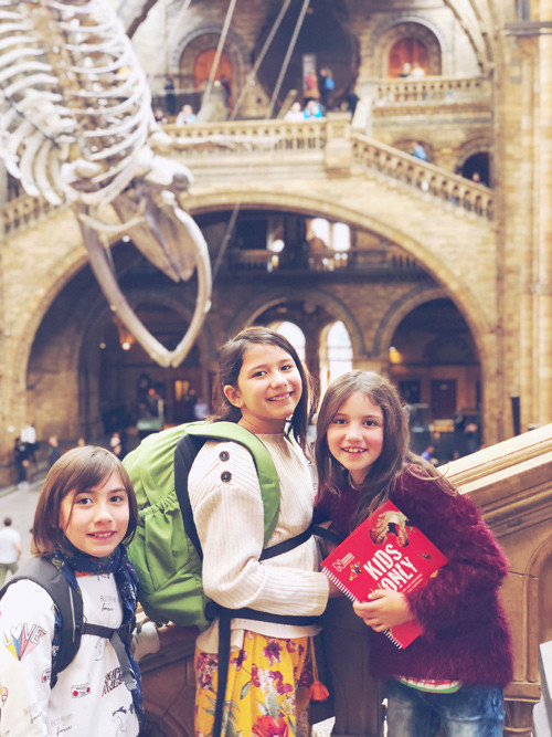 A 'school day' at the Museum of Natural History, London