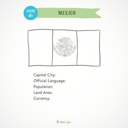 Mexico Passport A5Inserts (FreeVersion)