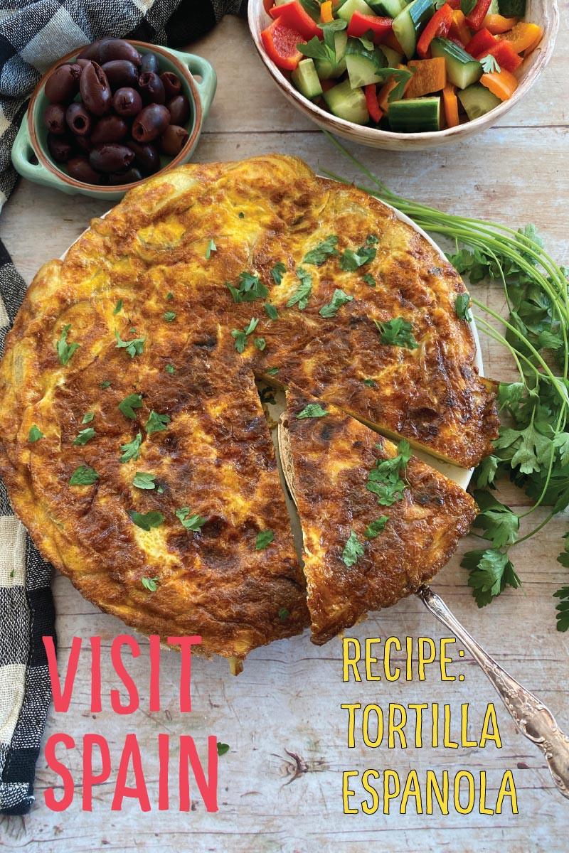 Spanish Tortilla Espanola recipe