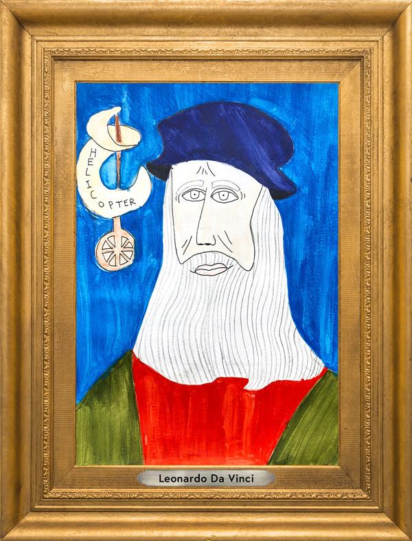The Museum of Very Interesting People features Leonardo Da Vinci