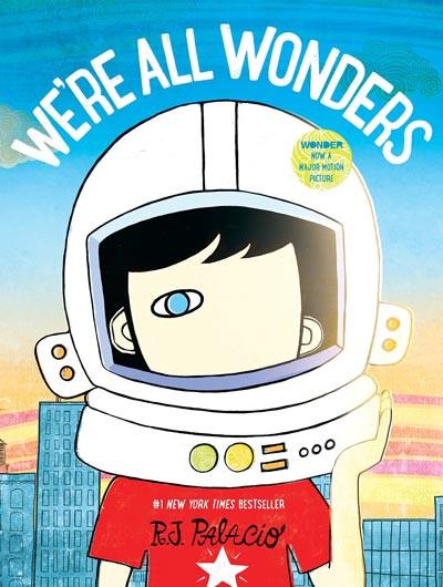 We're All Wonders - Book
