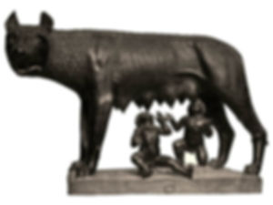 Romulus and Remus are twin brothers who founedRome. Romulusends up killing his brother