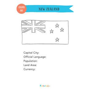 New Zealand Passport A5 Inserts (FreeVer)