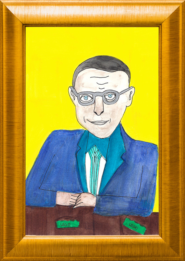 The Museum of Very Interesting People features Ole Kirk Christiansen