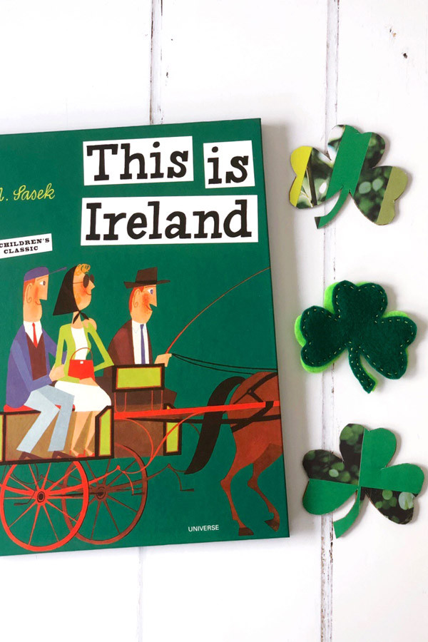 Make your own shamrock pin, inspired by the national symbol of Ireland