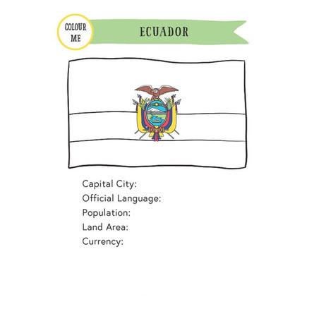 Ecuador Passport A5Inserts (FreeVersion)