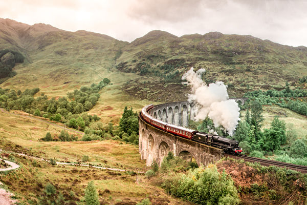 Glenfinnan Viaduct and the Highlands of Scotland Highlands of Scotland