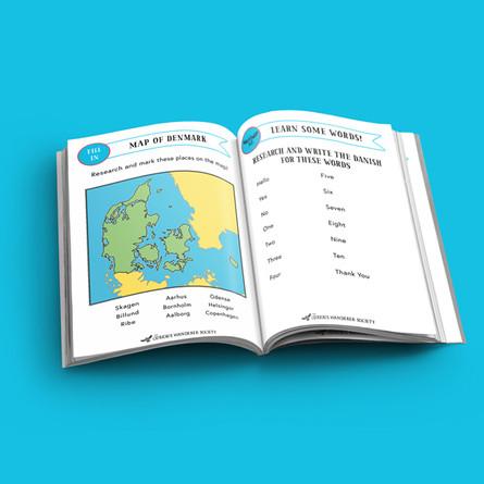 Denmark passport (free version)