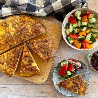 Make Tortilla Espanola