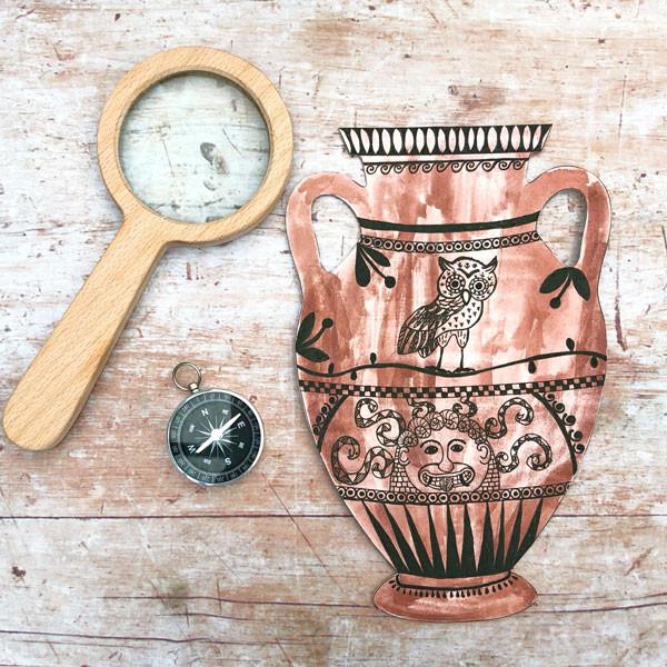 Make a Greek Vase Activity