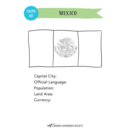 Mexico Passport A5 Inserts (Free Version)