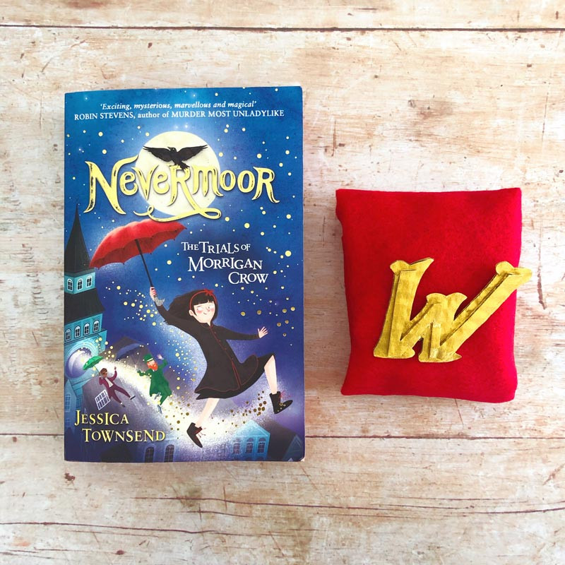 Wundrous Society Pin from Nevermoor: The Trials of Morrigan Crow
