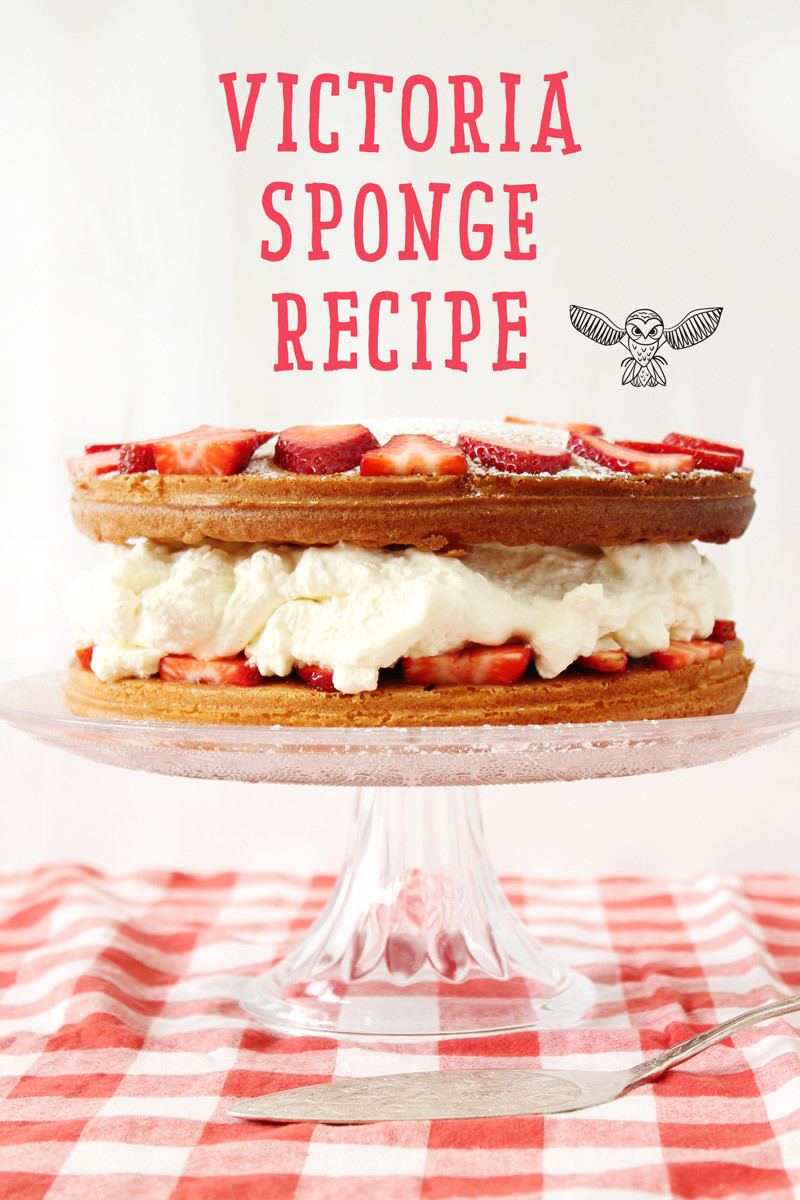 Victoria Sponge - a delicious and easy recipe for the kids to make