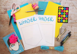 Wonder Family Book Club: Make a precept pennant | Moomookachoo