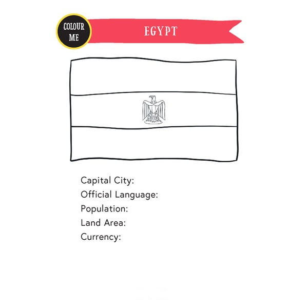 Egypt Passport A5Inserts (FreeVersion)