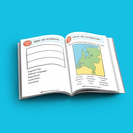 The Netherlands Passport (free version)