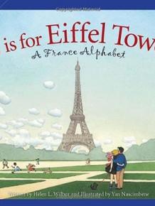 E is for Eiffel Tower-A France Alphabet