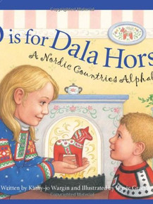 D is for Dala Horse - A Nordic Countries Alphabet