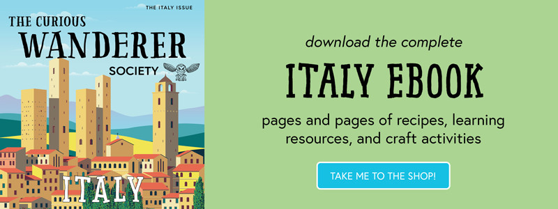 Italy ebook at the shop