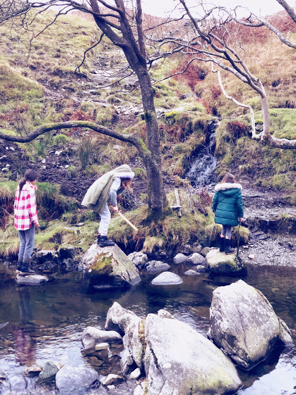 Exploring the fells near Skelwith Fold in Ambleside