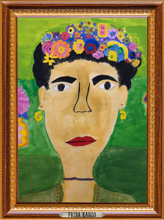 The Museum of Very Interesting People features Frida Kahlo