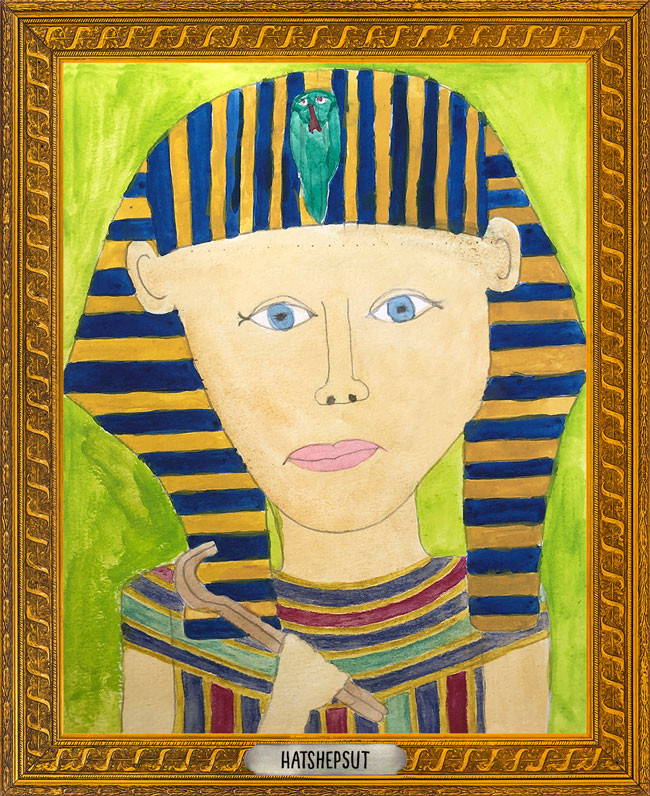 The Museum of Very Interesting People features Hatshepsut