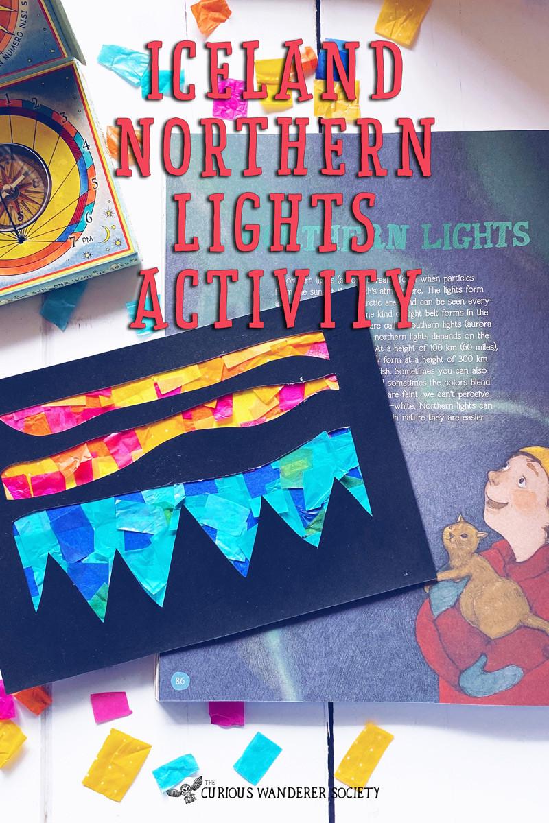 Iceland northern lights activity