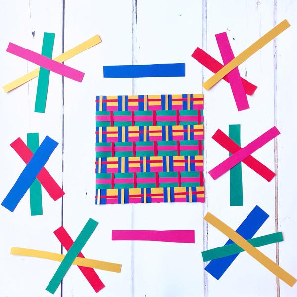 Scotland: Make a tartan-inspired weaving