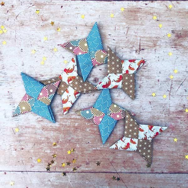 Japan: Make Origami Stars